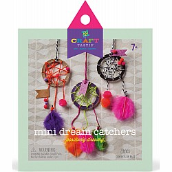 Craft-Tastic Mini Dream Catchers Kit