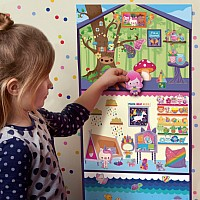 Jr Enchanted Sticker Playhouse