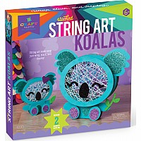 Craft-tastic Stacked String Art Koala