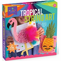 Craft-tastic Tropical String Art