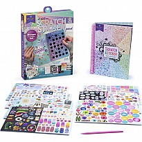 Craft-Tastic Scratch And Sticker Journal