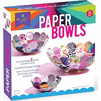 Craft-Tastic Paper Bowl Kit