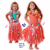 Musical Hula Skirt and Lei