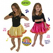 Chicken Dance Musical Skirt, Yellow