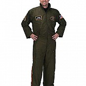 Aeromax Adult Armed Forces Pilot Suit With Embroidered Cap