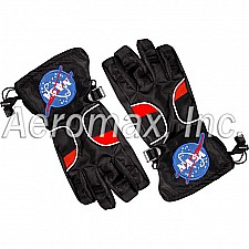 Astronaut Gloves - Black, size Small