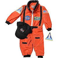Aeromax Jr. Astronaut Suit With Embroidered Cap, Size 18 Month