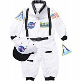 Aeromax Jr. Astronaut Suit With Embroidered Cap, Child - Sizes W