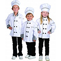 Jr. Chef Jacket w/ Hat, size Small