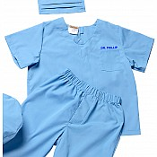 Aeromax Jr. Dr. Scrubs, Child - Sizes Blue