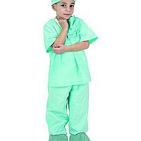 Jr. DR. Scrubs, Child Sizes (green)