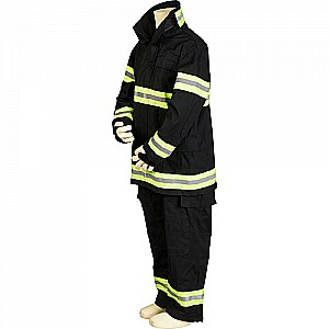 Jr. Firefighter Suit, size 6/8 (Black) (Choice of Helmet Sold Separately)