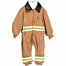 Jr. Fire Fighter Suit, Child Sizes (tan)