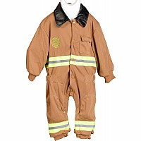 Aeromax Jr. Fire Fighter Suit, Child - Sizes 6-8 Tan