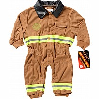Jr. Firefighter Suit, size 6 to 12 Months (Tan)