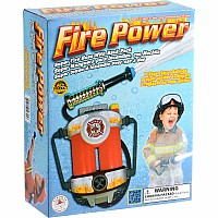 Fire Power, Super Fire Hose with Backpack
