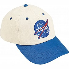 Jr. Flight Suit Cap (Blue & White), Adj Youth Size
