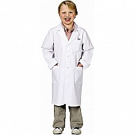 Jr. Lab Coat, 3/ 4 Length, Size 12/ 14