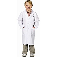 Jr. Lab Coat, 3/4 Length, size 6/8