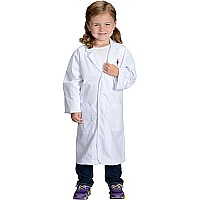 Jr. Lab Coat, 3/4 Length, size 8/10