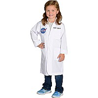 Jr. Rocket Scientist Lab Coat, 3/4 Length, size 6/8