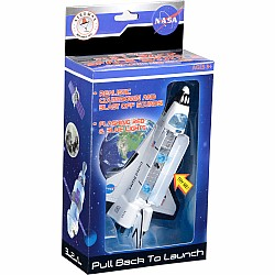 Pull Back Space Shuttle w/Lights & Sound - Boxed