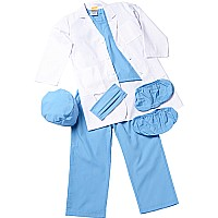 Jr. Physician, Blue, Size 2/ 3