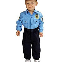 Aeromax Jr. Police Officer Suit, Size 18 Month