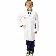 Jr. Stem Lab Coat, 3/ 4 Length, Size 6/ 8