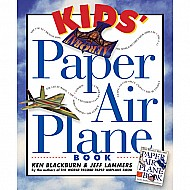 Kids' Paper Airplane Book Paperback