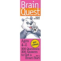 Brain Quest: Preschool Rev. 3rd Ed. - Paperback
