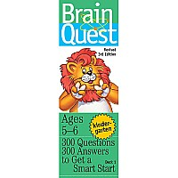 Brain Quest: Kindergarten Rev. 3rd Ed. - Paperback