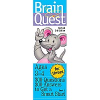 Brain Quest: For Threes Rev. 3rd Ed. - Paperback