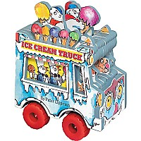 Mini Wheels Book - Ice Cream Truck