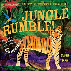Indestructibles: Jungle, Rumble! - Paperback