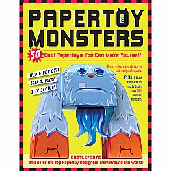 Papertoy Monsters Paperback