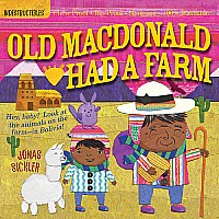 Old Macdonald Has A Farm Indestructible Paperback