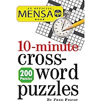 Mensa 10-minute Crossword Puzzles Paperback