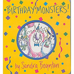 Boynton: Birthday Monsters! - Paperback