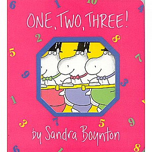 Boynton: One, Two, Three! - Paperback