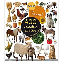 Eye Like Stickers On the Farm Paperback