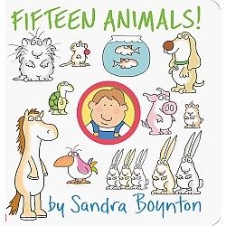 Fifteen Animals! by Sandra Boynton