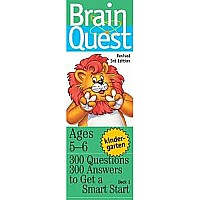 Brain Quest Kindergarten by Feder, Chris Welles