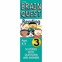 Brain Quest Grade 3 Reading: 56 Stories with Questions and Answers