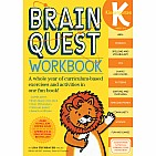 Brain Quest Workbook: Kindergarten Paperback