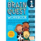 Brain Quest Workbook: Grade 1 Paperback