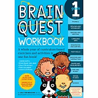 Brain Quest Workbook: Grade 1 by Trumbauer, Lisa