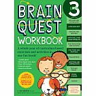Brain Quest Workbook: Grade 3 Paperback