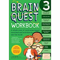 Brain Quest Workbook: Grade 3 by Meyer, Janet A.