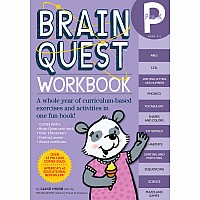 Brain Quest Workbook: Pre-K by Onish, Liane